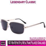 1001 homens estilo retro óculos polarizados com estrutura metálica
