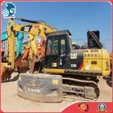 2012year usou a máquina escavadora da pá da garra da máquina escavadora da esteira rolante do gato 320d