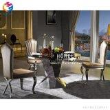 ステンレス鋼の卸し売り食事の椅子Hly-St22をスタックする熱い販売