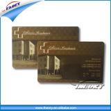 Cartões em branco brancos do PVC do plástico da identificação do tamanho desobstruído feito sob encomenda do cartão de crédito Cr80