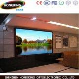 Pantalla de interior RGB P6 LED que hace publicidad de la visualización