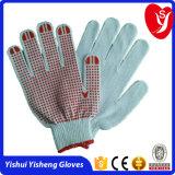 PVC点の構築の使用のための7gaugeか10gaugeコンピュータ機械PVCによって点を打たれる手袋