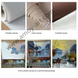 [مولتي-بوربوسس] أرجوانيّة [فلوور فيلد] [أيل بينتينغ كنفس] جدار فنية لأنّ زخرفة بينيّة