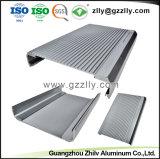 Radiador de aluminio extrusionado Popular para la colada de coche