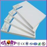 Hoja de alta densidad del PVC del blanco para de interior y al aire libre