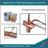 máquina de calefacción de alta frecuencia de inducción de 15kw 30-100kHz Spg50K-15