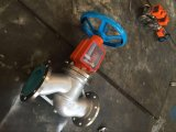 L'ossigeno elettrico dell'azionatore severo olio ha flangiato valvola di globo