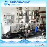 Tipo linear máquina de rellenar del agua para la pequeña escala