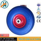 Flat-Free PU roda com pneu à prova de punção (4.10/3.50-4)