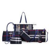 Insiemi della borsa 6PCS del cuoio del sacchetto delle donne dei sacchetti di sport del Duffel Bw1-198