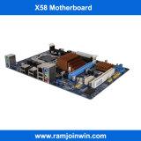 Soporte DDR3 1600 1333 1066MHz placa madre de la mesa de la memoria X58 1366