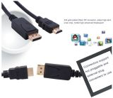 Displayport к мужчине кабеля HDMI к мужчине 6ft 1.8m