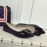Размера конца 2017 рот нового корейского ботинок ботинок способа кожаный отмелый с плоскими ботинками
