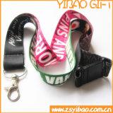 Promotion de la lanière de polyester avec boucle en métal (YB-ly-08)