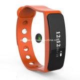 Braccialetto astuto Android di Bluetooth di frequenza cardiaca del video del Wristband impermeabile di forma fisica