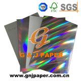 Diseño personalizado holográfica de papel metalizado de cartón para embalaje