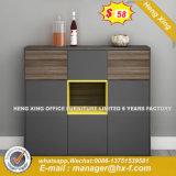 Armário de laminado MFC modernos Armários de cozinha de madeira (HX-DR466)