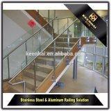 La Chine de gros escalier escalier de verre balustrade rambarde