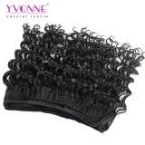 La grande estensione di riserva dei capelli del Virgin dell'essere umano dei Peruvian 100% di Yvonne slaccia l'onda