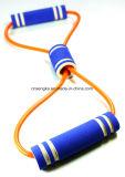 L'yoga della fascia dei cicli lega la concentrazione di gomma di ginnastica di addestramento della strumentazione di forma fisica di esercitazione