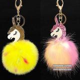 Presente Accessorier encantador da forma da corrente chave da decoração do cavalo para a senhora Bolsa FT076