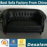 مصنع [وهولسل بريس] أسود لون جلد أريكة ([ي1203])
