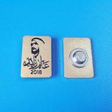 형 신제품을의 Zayed 금속 접어젖힌 옷깃 Pin 2018 년 해방하십시오