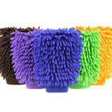 Fördernder Microfiber Abstauben-Handschuh für Hausarbeit Microfiber Auto-Wäsche-Handschuhe