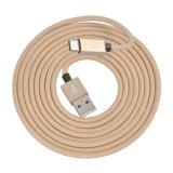Cable de carga rápido trenzado de nylon del USB de la sinc. de los datos del nuevo producto para el Tipo-c