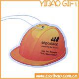 熱い販売の紙カード(YBds02)が付いているカスタムフルーツの形のペーパー芳香剤か車の芳香剤