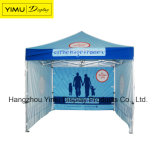 la tenda piegante esterna del Gazebo di 3*3m schiocca in su la tenda con Palo di alluminio