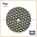 Vínculo de resina flexível seco Almofada de polir de moagem de Diamante