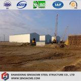Magazzino modulare della struttura d'acciaio di disegno della costruzione di certificazione di iso