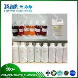 La saveur liquide de grenade de la forte concentration E, échantillons sont libre pour tester