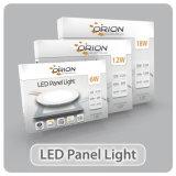 3W super fino, 6W, 9W, 12W, 15W, 18W Square painel LED