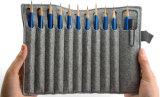 Caixa de lápis de feltro de venda quente sentida saco de carvão