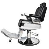 油圧装置が付いている大広間の理髪店の椅子の骨董品の理髪店の椅子