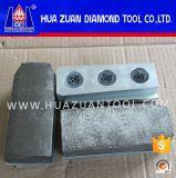 Bloques de pulido en enlace del abrasivo de Fickert del metal/de la resina del diamante