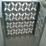 Панели металла сертификата ISO потолок Perforated алюминиевый ый