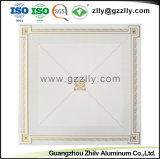 Panneau en aluminium de matériaux de construction revêtement du rouleau de dalle de plafond d'impression