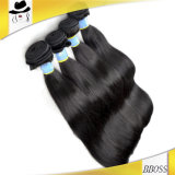 加工されていない毛、ブラジルの毛、人間の毛髪、Remyの毛
