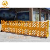 Contrôle de la foule barrière extensible, barrière portatif de l'usine
