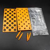 多機能の化学実験装置のプラスチック試験管ラック