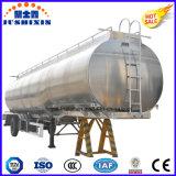De aangepaste 3-as Aanhangwagen Van uitstekende kwaliteit van de Tank van de Brandstof van het Aluminium van het Staal