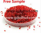 Roter Plastikphosphor flammhemmendes Masterbatch für Fliese-Einspritzung