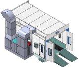 Cabine de pulvérisation de bus de l'environnement de cabine de pulvérisation de camion grande cabine de pulvérisation