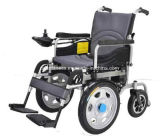 Vier Rad-Rad-Stuhl mit Elektromotor