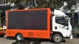 P10 de alto brillo LED DIP346 Publicidad móvil de camiones para la venta de camiones publicidad LED