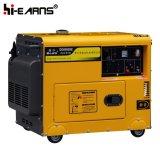 공냉식 침묵하는 유형 디젤 엔진 발전기 단일 위상 (DG4500SE)