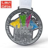 熱い販売法の習慣はトルコ安い卸し売り5K 10Kの半分のマラソンの連続した記念品メダルを予約した